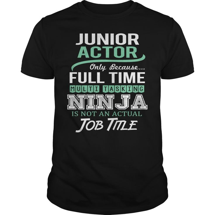 Awesome Tee  For Junior Actor***How to ? 1. Select color 2. Click the ADD TO CART button 3. Select your Preferred Size Quantity and Color 4. CHECKOUT! If you want more awesome tees, you can use the SEARCH BOX and find your favorite !!Junior Actor