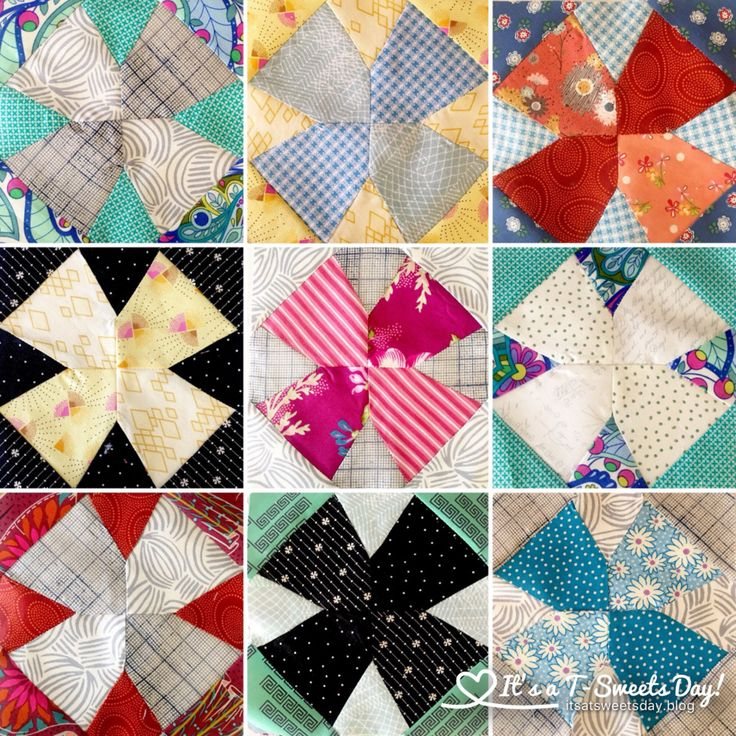 Delilah Quilt Mayflower Blocks -  Jen Kingwell really knows how to design a block!