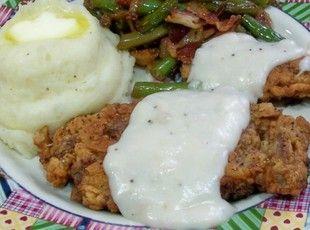 Chicken Fried Steak (No, wait that's Deer Fried Steak) Recipe | Just A Pinch Recipes