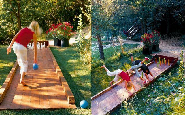 Kręgle ogrodowe