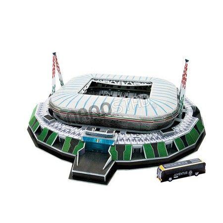 Maqueta del Estadio del Juventus 'Estadio de la Juventus' para armar