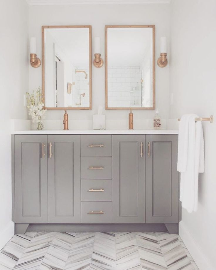 Gold Bathroom Decor, Rose Gold Bathroom Mirror Cabinet