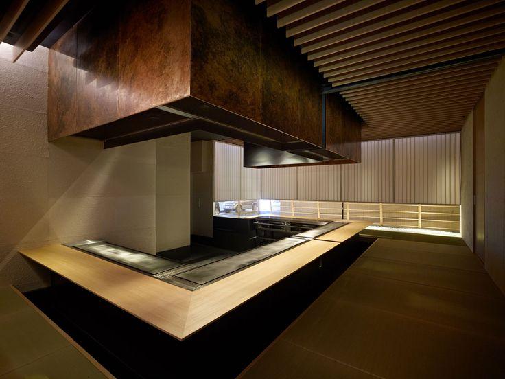 Kyoto Kokusai Hotel [Steak House Omi] 2011 | kengo kuma and associates