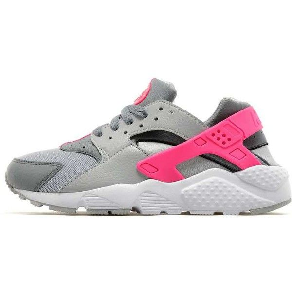 Nike Air Huarache Junior ($78) ❤ liked on Polyvore featuring shoes