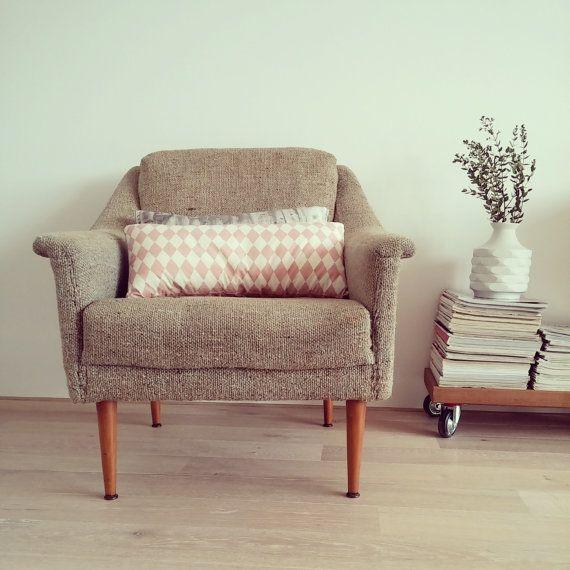 Original 50er/60er Jahre Lounge Sessel Von LeFlair Auf Etsy