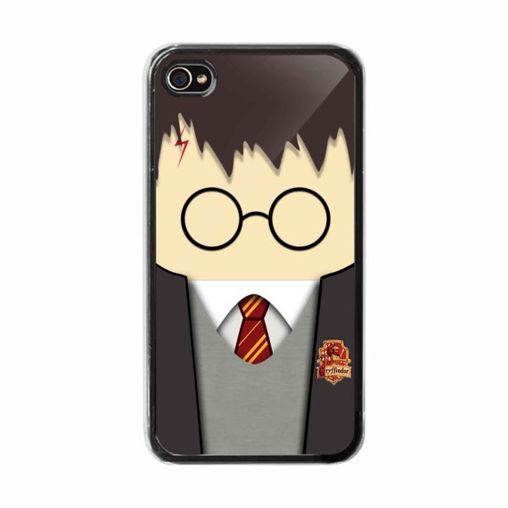 iPhone 4 /4s hard case  Funny Cute Kawai Harry Potter  by BeeCase, $15.00