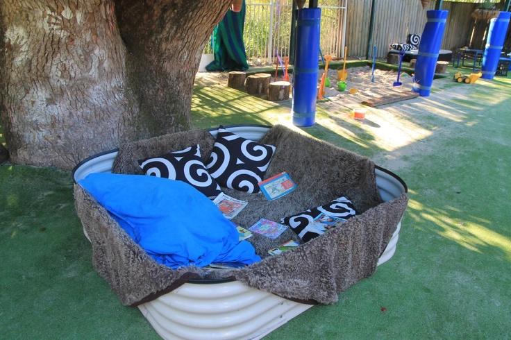 We create cosy places to be outside too.