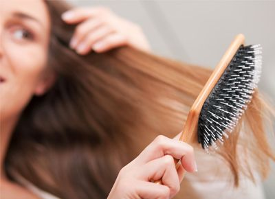 Fragrant Locks:  Here's an easy beauty trick... Spritz your hairbrush with your favorite perfume before brushing from roots to tips. It's a subtle way to make everyone want to non-creepily smell your hair.