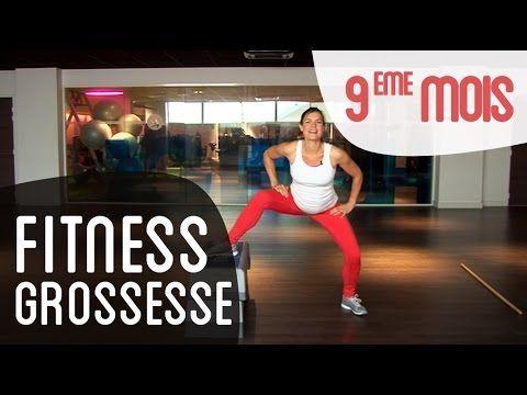 Fitness 9ème mois de grossesse - YouTube