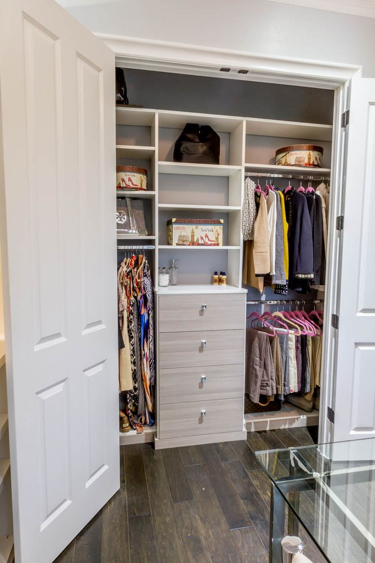55 best Reach-In Closet Organizers images on Pinterest | Custom ...