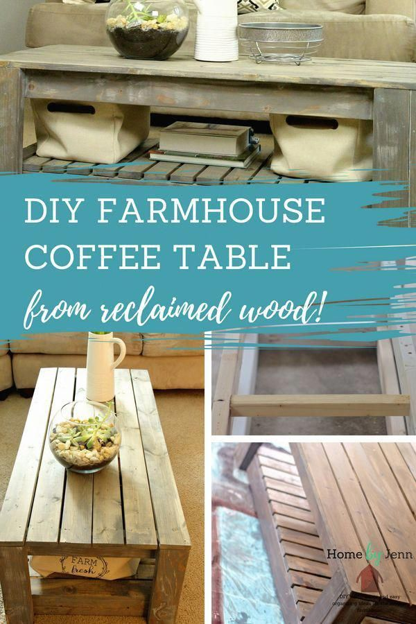 Learn House To Build A Farmhouse Coffee Table This Easy Diy
