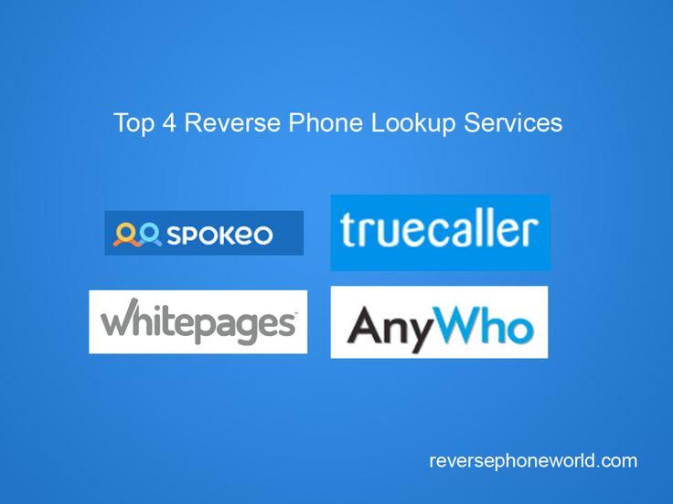 Top 4 Reverse Phone Lookup Services – Free Reverse Phone Lookup