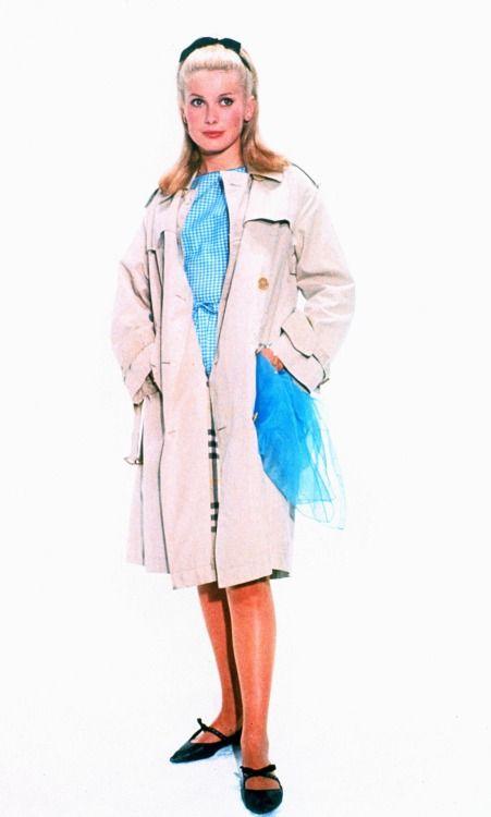 Catherine Deneuve for Les parapluies de Cherbourg.