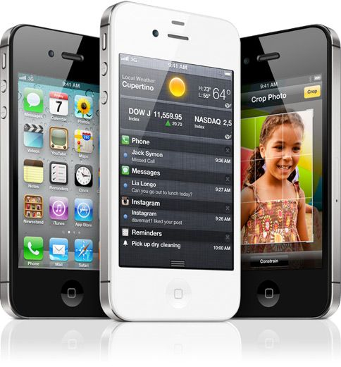iPhone 4S - cant wait to get my hands on this phone.
