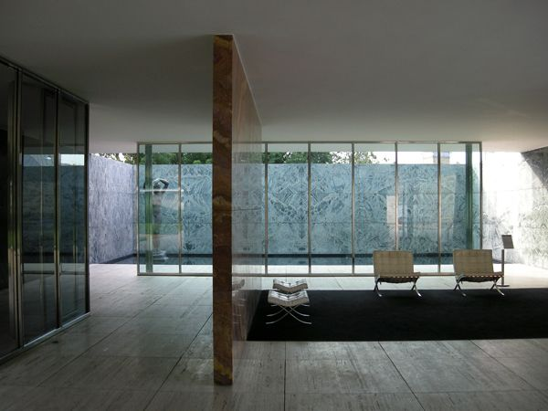 Architectural Gem Barcelona Pavilion in Barcelona Spain
