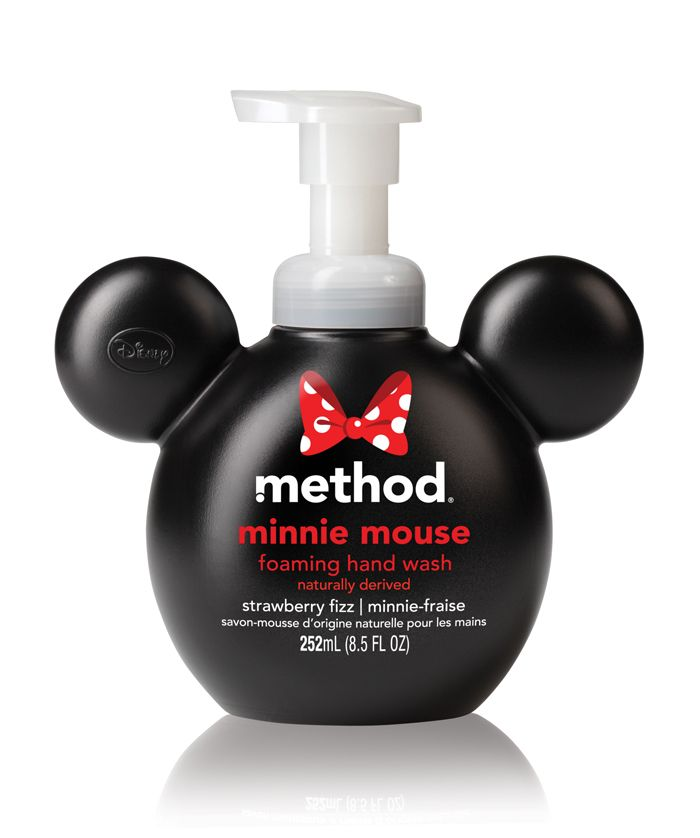 Method Minnie and Mickey soap - because anything is better with Mickey ears!!