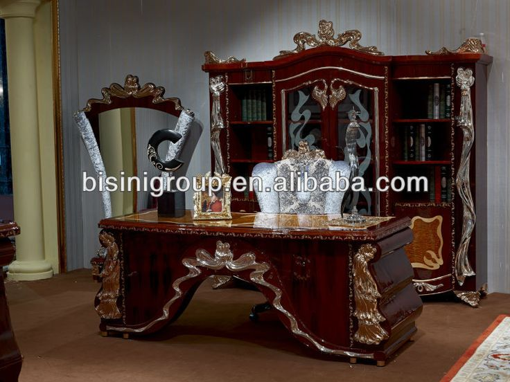 European Style Luxury Office Desk Elegant Design Office furniture