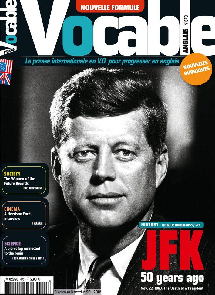 Vocable Anglais n°673 du 31/10/13 #JFK