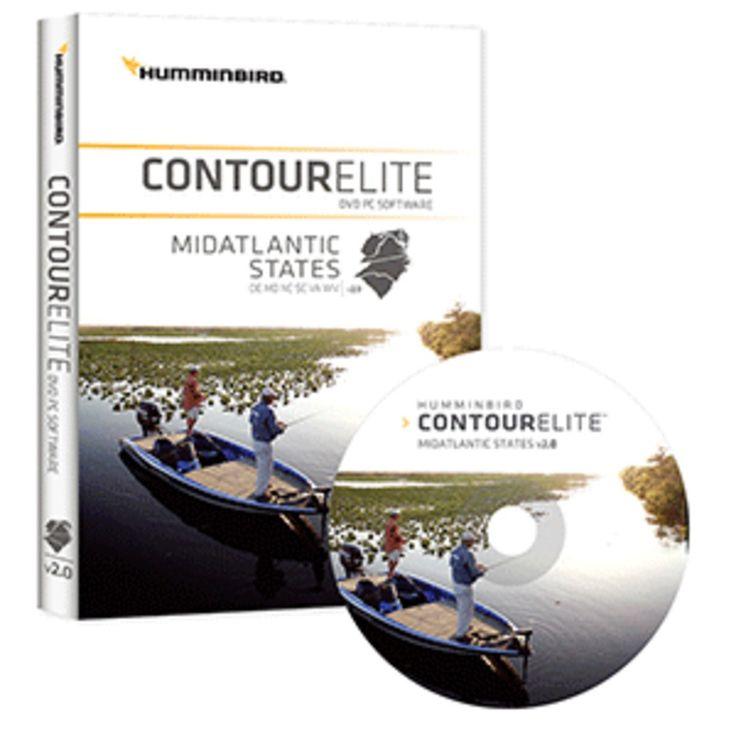 Humminbird Contour Elite - Mid-Atlantic States - Version 2.0
