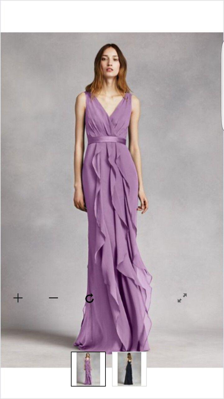 Hermosa Vestido Rosa Dama Wang Vera Ilustración - Ideas de Estilos ...