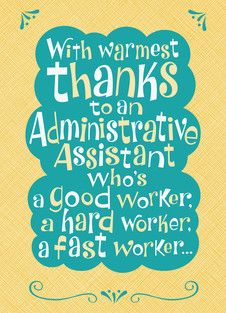 cards for administrative professionals day
