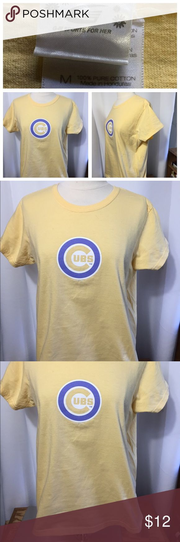 Design your own t shirt chicago - Chicago Cubs Curl Banks T Shirt Size M Excellent Condition G Iii Tops Tees