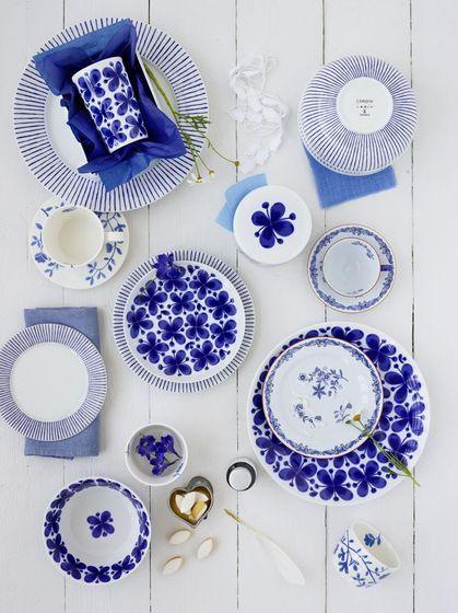 Blue styling