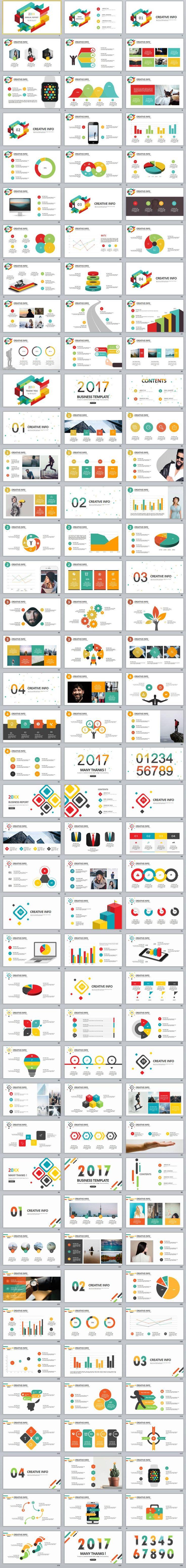 126+ Best Business infographics chart PowerPoint templates