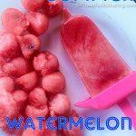 Kids Summer Watermelon Popsicles  ......