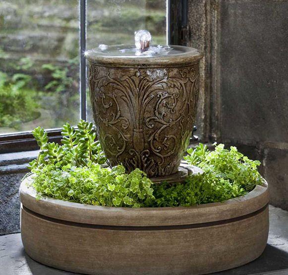 7 besten Zimmerbrunnen Bilder auf Pinterest Pumpe - brunnen garten stein
