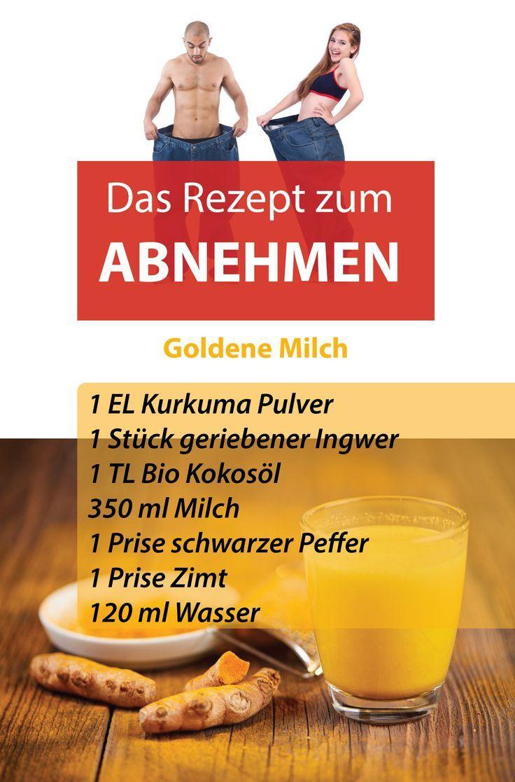 #abnehmen #gesundheit #rezept #abnehmerezept #goldenemilch