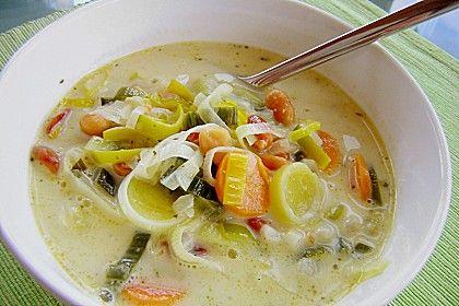 Afrikanische Erdnuss - Lauch - Suppe, ein schmackhaftes Rezept aus der Kategorie Kochen. Bewertungen: 68. Durchschnitt: Ø 4,2.