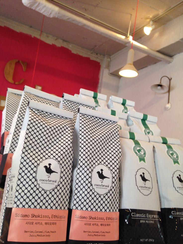 seoul再訪:見覚えのあるロゴのお店、大きなカフェになってた