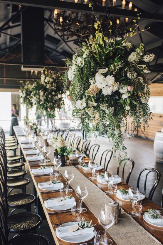 Stylish Barn Wedding by The White Tree Photography