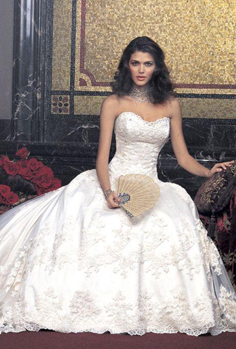 Amalia Carrara Wedding Gown - Style 235 - (brides)