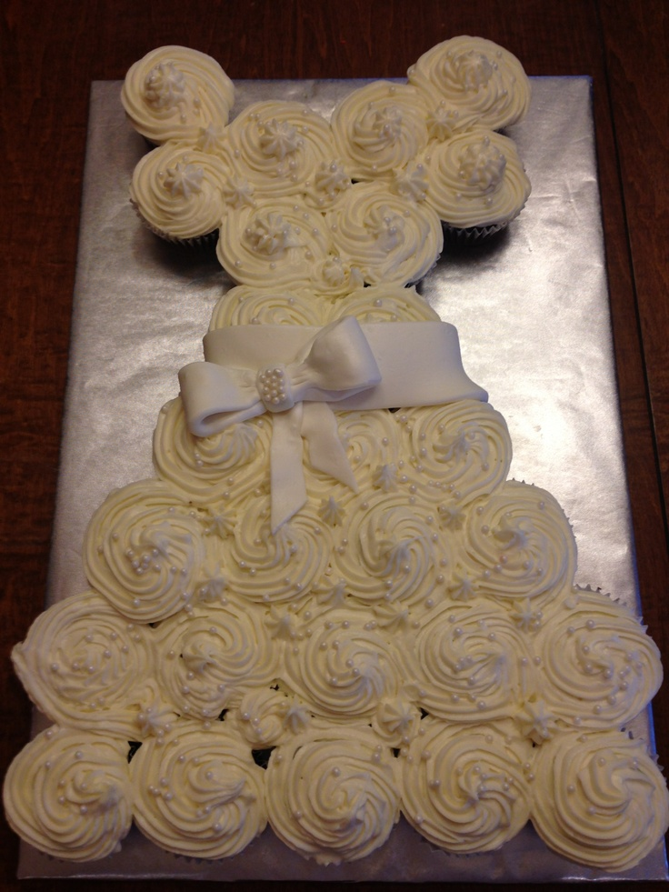 Wedding dress cake cupcake  Wedding  Cake Coconut cupcakes Cupcakes with cream cheese frosting
