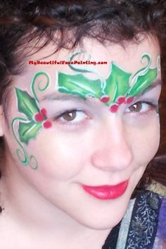 FACE - PAINTING - CHRISTMAS on Pinterest | 145 Pins