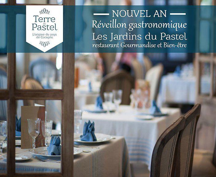 terredepastelblog.com Nouvel an: un menu festif pour bien clôturer l'année 2015 au restaurant Les Jardins du Pastel à Toulouse-Labège.
