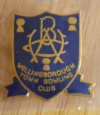 #Bowls #badge - #wellingborough town bowling club,  View more on the LINK: 	http://www.zeppy.io/product/gb/2/351978511263/