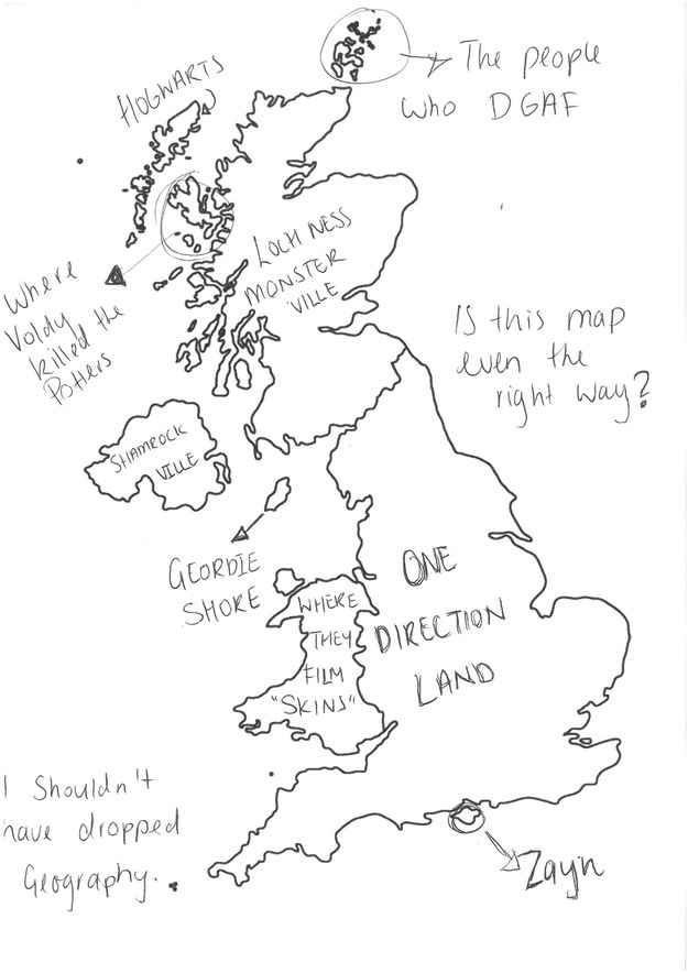 We Asked Australians To Label The UK And We're So Sorry