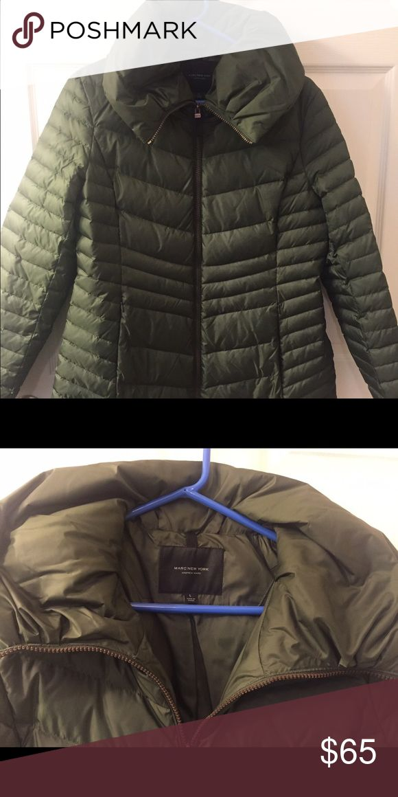 Marc New York- Andrew Marc- Green Puffer Jacket NWOT. very warm ! Andrew Marc Jackets & Coats Puffers