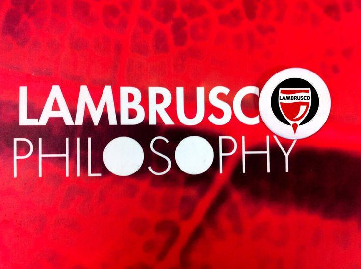 #Lambrusco Filosofía #frizzante