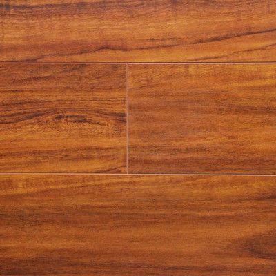 "Serradon 7"" x 48"" x 12.3mm Laminate in Brazilian Cherry & Reviews | Wayfair"