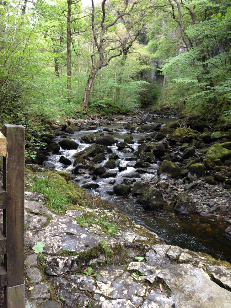 Beautiful Ingleton Waterfalls Trail