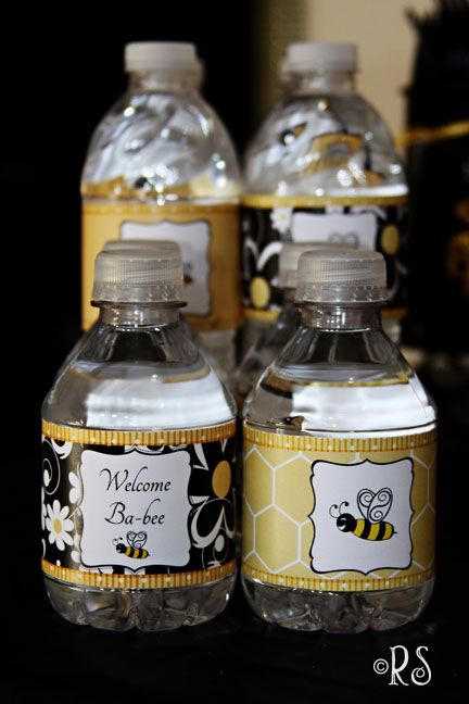 Bumble Bee Shower Idea