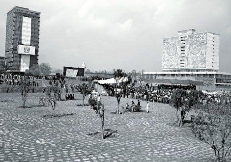 Ciudad Universitaria, 1956.