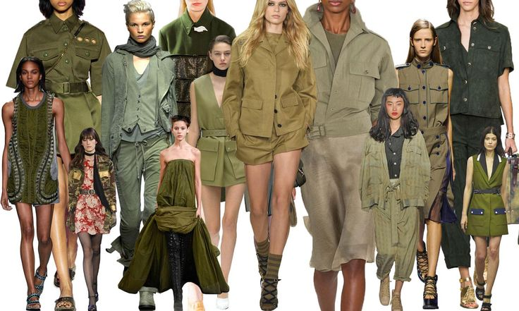 Spring Trends And What To Buy Now Sexy Military And Trench