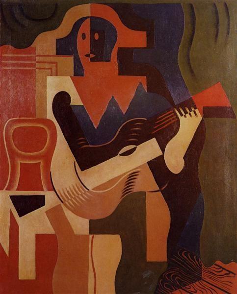 Arlequín con la guitarra, 1919 - Juan Gris