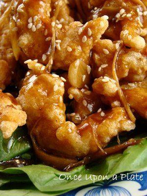 Crispy Garlic-Ginger Chicken, Asian Style