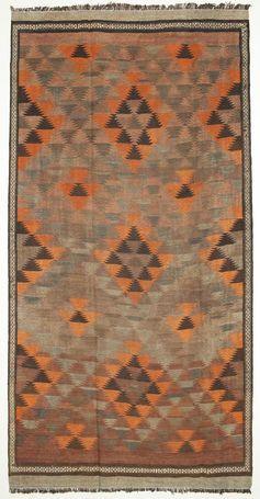 Kelim Fars Teppich EXZH251 186x364 von Persien / Iran - Kaufen Sie Ihren Teppich bei CarpetVista